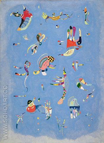 Sky Blue 1940 - Wassily Kandinsky reproduction oil painting