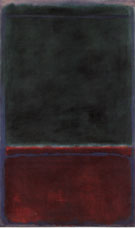 No 7 Green and Maroon 1953 original - Mark Rothko