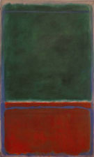 No 7 Green and Maroon 1953 - Mark Rothko