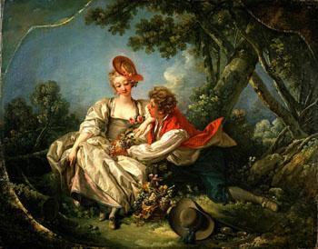 Four Season Autumn 1775 - Francois Boucher reproduction oil painting