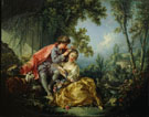 Four Season Spring 1775 - Francois Boucher reproduction oil painting