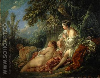 Four Season Summer 1775 - Francois Boucher reproduction oil painting