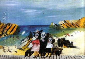 Giqqle Palace 1945 - Sidney Nolan reproduction oil painting
