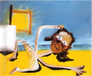 Bather at morning 1945 - Sidney Nolan reproduction oil painting
