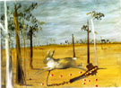 Hare in Trap 1946 - Sidney Nolan reproduction oil painting