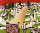 Ballarat Cemetery 1943 - Sidney Nolan reproduction oil painting