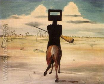 Kelly 1954 55 - Sidney Nolan reproduction oil painting