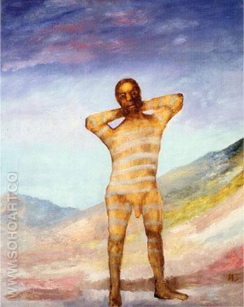 Convict 1962 - Sidney Nolan reproduction oil painting