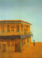Royal Hotel 1948 - Sidney Nolan reproduction oil painting