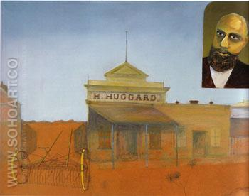 Huggard s Store 1948 - Sidney Nolan reproduction oil painting