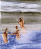 Swimmers at Gallipoli 1958 - Sidney Nolan reproduction oil painting