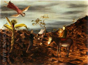 Flight into Egypt 1951 - Sidney Nolan reproduction oil painting