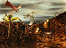 Flight into Egypt 1951 - Sidney Nolan