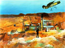 Pretty Polly Mine 1948 - Sidney Nolan reproduction oil painting