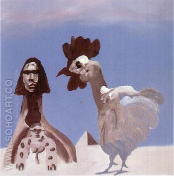 Notes for Oedipus ll 1975 - Sidney Nolan reproduction oil painting