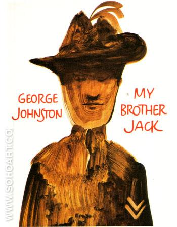 My Brother Jack by George Johnston Collins London 1964 - Sidney Nolan reproduction oil painting