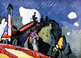 Murnau Landscape  with Tower 1908 - Wassily Kandinsky