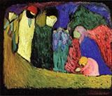 Encounter c1908 - Wassily Kandinsky