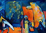 Improvisation 2 Funeral March 1909 - Wassily Kandinsky