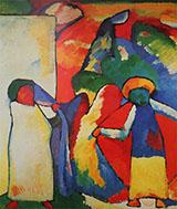 Improvisation 6 African 1909 - Wassily Kandinsky