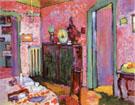 Interior My Dining Room 1909 - Wassily Kandinsky