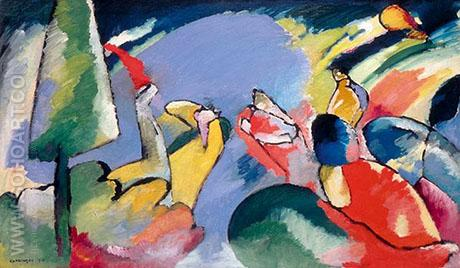Improvisation 14 1910 - Wassily Kandinsky reproduction oil painting