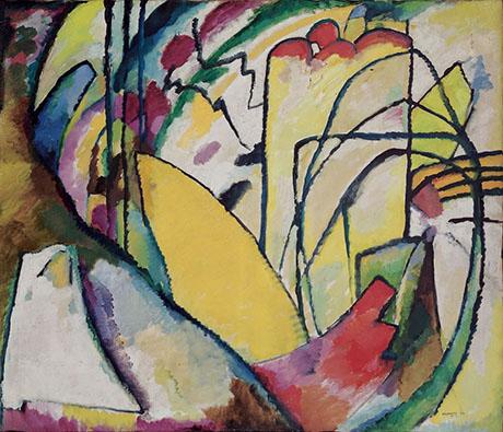 Improvisation 10 1910 - Wassily Kandinsky reproduction oil painting