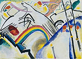 Composition IV 1910 - Wassily Kandinsky reproduction oil painting