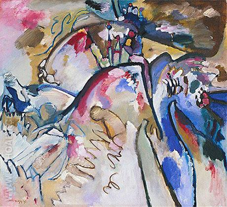 Improvisation 21a 1911 - Wassily Kandinsky reproduction oil painting