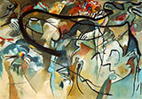Composition V 1911 - Wassily Kandinsky reproduction oil painting