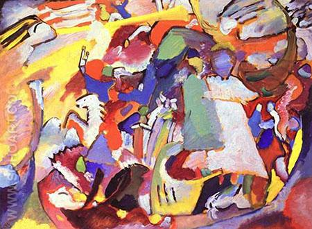 Todos los Santos I 1911 - Wassily Kandinsky reproduction oil painting