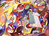 Todos los Santos I 1911 - Wassily Kandinsky