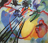 Improvisation 26 1912 - Wassily Kandinsky