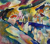 Landscape with Rain 1913 - Wassily Kandinsky