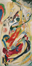 Wall Panel for Edwin R Campbell No 1 1914 - Wassily Kandinsky