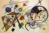 Unbroken Line 1923 - Wassily Kandinsky
