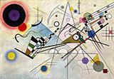 Composition VIII 1923 - Wassily Kandinsky