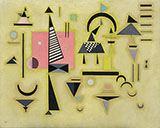 Decisive Pink 1932 - Wassily Kandinsky