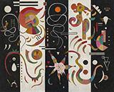 Striped 1934 - Wassily Kandinsky