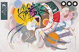 Dominant Curve 1936 - Wassily Kandinsky