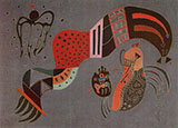 Tempered Elan 1944 - Wassily Kandinsky