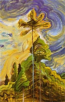 Sunshine and Tumult 1938 - Emily Carr reproduction oil painting