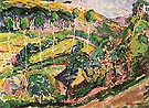 Brittany Landscape 1911 - Emily Carr
