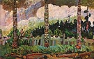 Tanoo Queen Charlotte Islands 1913 - Emily Carr
