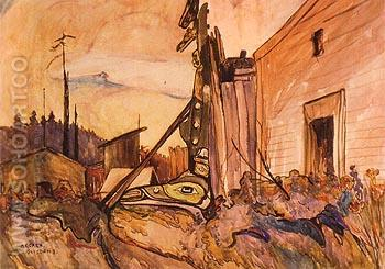 Guisdoms 1912 - Emily Carr reproduction oil painting