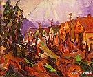 Vancouver Street 1912 - Emily Carr reproduction oil painting