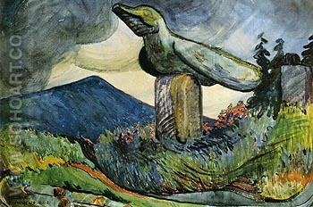 Cumshewa 1912 - Emily Carr reproduction oil painting