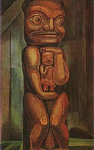 Totem Mother kitwancool 1928 - Emily Carr