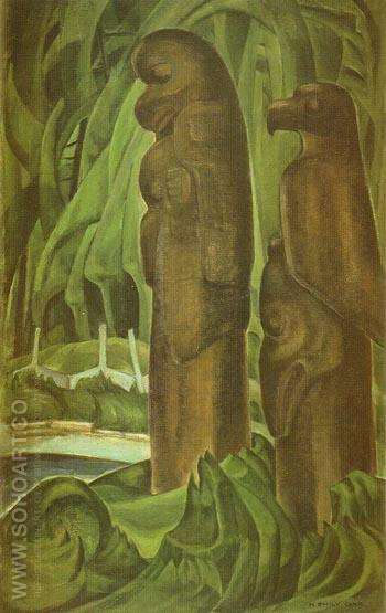 Nirvana 1929 - Emily Carr reproduction oil painting