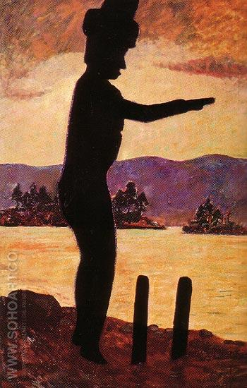 The Welcome Man 1913 - Emily Carr reproduction oil painting